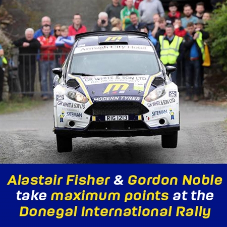 Alastair Fisher Donegal Rally
