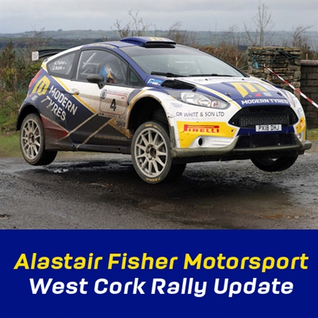 Alastair Fisher West Cork Rally 2019