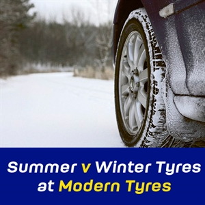 Modern Tyres Winter v Summer